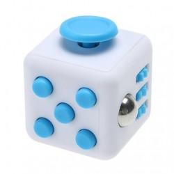 Fidget Cube hvid og blå