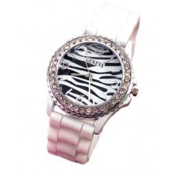 Silikone ur  zebra
