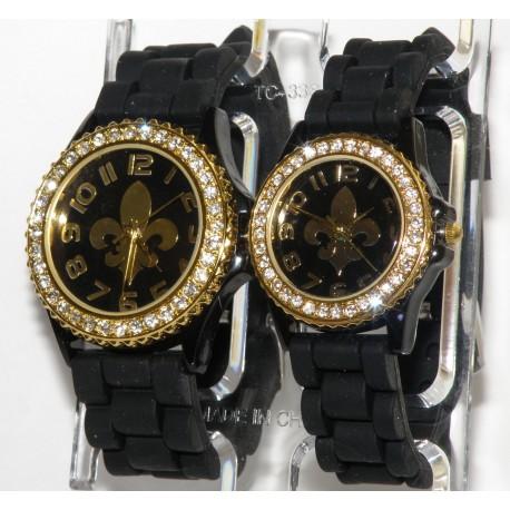 Fransk lilje silikone ur