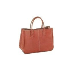 Flot håndtaske - brun
