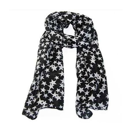 Tørklæde med stjerner