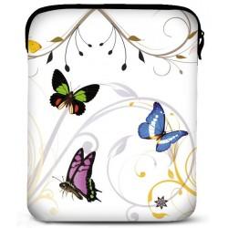 Neopren cover til alle iPad modeller - model: Butterfly