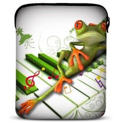 Neopren cover til alle iPad modeller - model: Frog