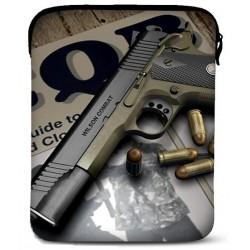 Neopren cover til alle iPad modeller - model: Gun