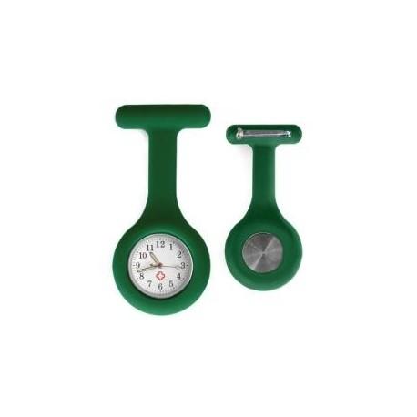 Sygeplejerske ur i grøn silikone