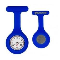 Sygeplejerske ur i mørk blå silikone