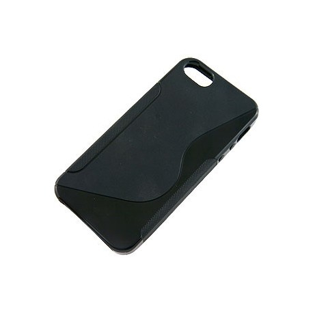 TPU cover til iPhone 5- sort