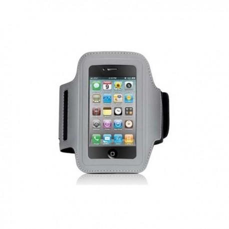 Løbearmbånd til iPhone - Grå