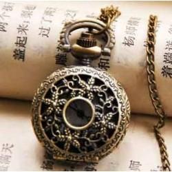Billig antik lommeur i kæde