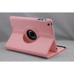 Lyserød læder cover til iPad Mini