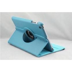 Lækkert tyrkis læder cover iPad Mini