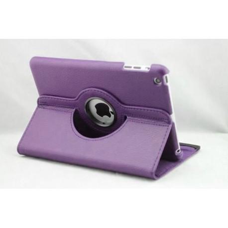 Lækkert lilla læder cover iPad Mini