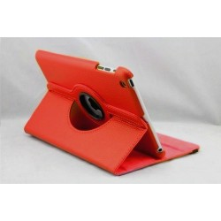 Rød læder cover til iPad Mini