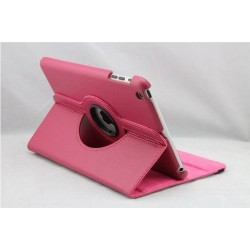 Pink læder cover til iPad Mini