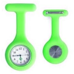 Sygeplejerske ur i lys grøn silikone