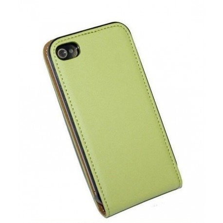 Grøn flip cover iPhone 5