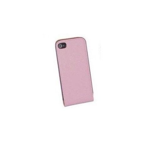 Pink/lyserød flip cover iPhone 5