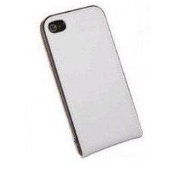 Hvidt flip cover iPhone 5
